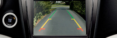 Available ParkView® Rear Back-Up Camera and Park-Sense® Rear Park Assist12