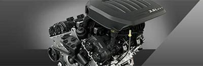 Award-winning V6 with Best-in-Class standard fuel economy34