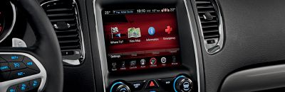 Largest-in-class available 8.4-inch touchscreen26