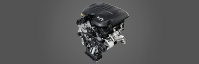 Standard 3.6L Pentastar™ VVT V6 with 305 horsepower and exceptional fuel economy
